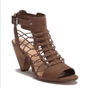 Vince Camuto Caged Leather Sandals